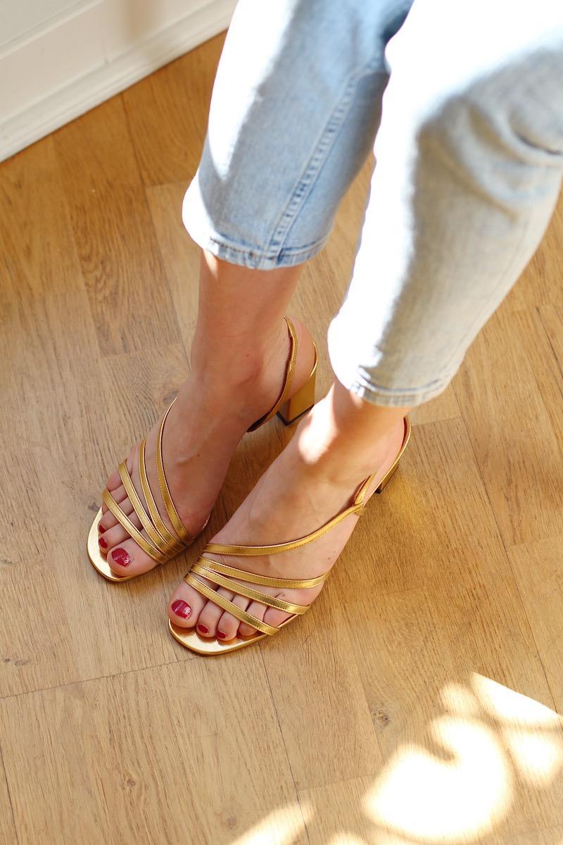Wedding - Shoes Michel Vivien : Bloem